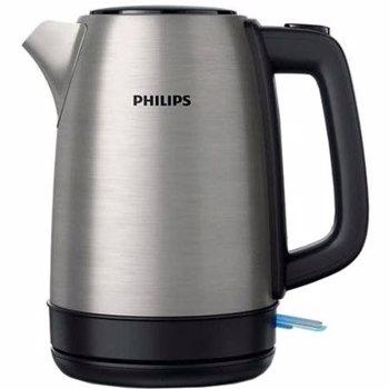 Fierbator Philips HD9350/91, 2200 W, 1.7 l, Argintiu
