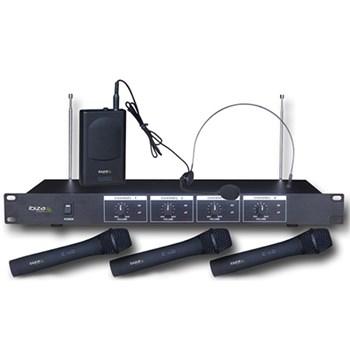 Microfon SET 4 MICROFOANE WIRELESS( 3 MANA + 1 CASCA) IBIZA