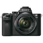 Aparat foto Mirrorless Sony Alpha A7II, 24.3 MP, Full-Frame, Wi-Fi, NFC, E-Mount, ISO 50–25600, Negru + Obiectiv SEL2870 28-70mm, Negru