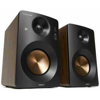 Boxe 2.0 Horizon HAV-M1100N Hi-Fi Monitor Active 60W AUX USB Bass Treble Knobs Castaniu HAV-M1100N