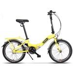 "Bicicleta Pegas Camping 3S, Pliabila, Roti 20"", 3 Viteze (Galben)"