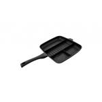Tigaie grill, acoperire marmura, 32 cm, Negru Royalty Line
