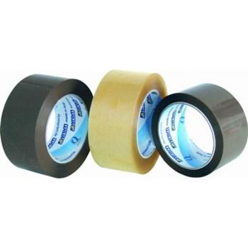 Banda adeziva 48mm x 60m (adeziv acrilic) transparenta, PLUSS