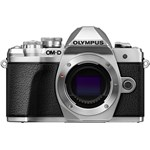 Aparat foto Mirrorless Olympus E-M10 Mark III Body 16.1 MP Argintiu V207070SE000