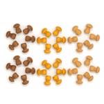 GRAPAT Mandala little mushroom