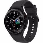 Smartwatch Samsung Galaxy Watch 4 Classic SM-R890, Bratara Cauciuc 46mm, Rezistent la apa si praf (Negru)
