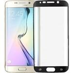 Folie de protectie Tempered glass 3D Tellur pentru Samsung S6 Edge, Margini curbate, Black