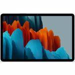 TABLETA SAMSUNG GALAXY TAB S7 PLUS 5G, 12.4 INCH, 6GB, 128GB, MYSTIC BLACK