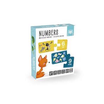 Numbers. Puzzle educativ Montessori: Invatam numerele