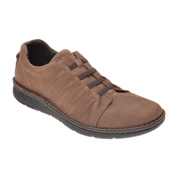 Pantofi OTTER maro, 7729, din nabuc