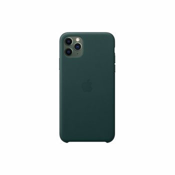 Husa Original iPhone 11 Pro Max Apple Leather Forest Green