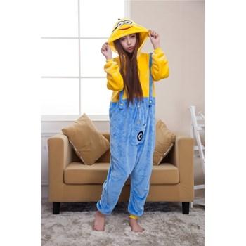 PJM4 Pijama intreaga kigurumi, model Minions