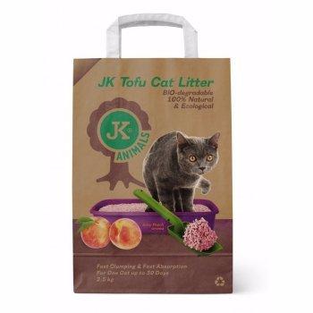 Asternut JK Animals Tofu Piersici, 2,5 Kg