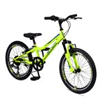 Bicicleta pentru copii Byox Tucana Yellow 6 viteze 20 inch