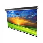 Ecran de proiectie montabil pe perete Sopar Platinum, 220 x 200cm, Mecanism de blocare, 3220PL, SP32