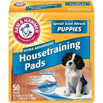 Covor Absorbant Arm&Hammer Puppy 50 Buc