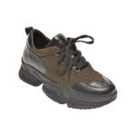 Pantofi sport FLAVIA PASSINI kaki, 471618, din piele naturala