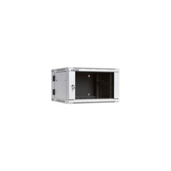 Cabinet metalic Linkbasic WCC06 6U Wall mount, 600 x 550, Glass door, Gri