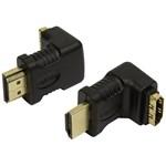 LogiLink Adaptor HDMI (M/T) 90 de grade