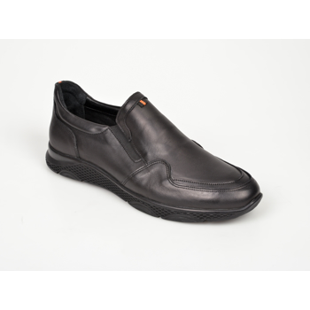Pantofi OTTER negri, M5371, din piele naturala