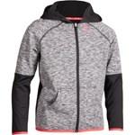 Jachetă termică Dry 500 Negru/Roz ARTENGO