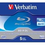 Blu-ray disc Verbatim 50GB 6x wide printabil carcasa 1 bucata, no ID