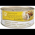 APPLAWS CAT ADULT PIEPT DE PUI SI MANGO IN ASPIC CONSERVA 70 G