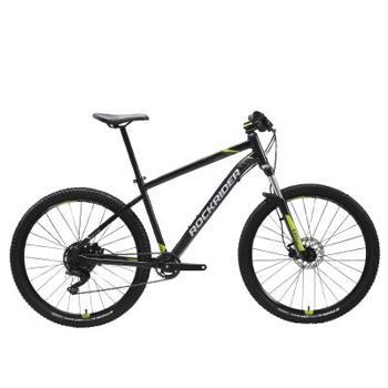 "Bicicletă MTB ST 530 27,5"" Negru ROCKRIDER"