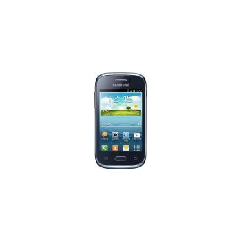 "Telefon Mobil Samsung Young S6310, ARM Cortex A5 1GHz, TFT capacitive touchscreen 3.27"", 768 RAM, 4GB Flash, Wi-Fi, 3G, Android 4.1.2 (Albastru)"