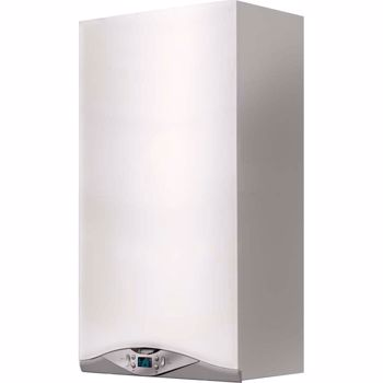 Centrala termica murala in condensare Ariston Cares Premium 24 EU Gaz Tiraj fortat 24 kW Display digital cares premium 24 eu