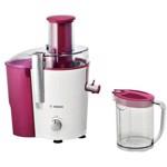 Bosch Storcator de fructe si legume MES25C0, 700 W, 2 viteze, sistem DripStop, rosu/alb