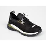 Pantofi sport FLAVIA PASSINI negri, 2177, din piele intoarsa