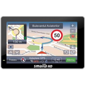 Navigatie GPS Smailo HD 5.0, harta Full Europe