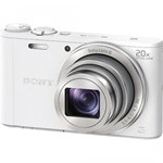 Aparat foto Sony Cyber-shot DSC-WX350 18.2 Mpx zoom optic 20x WiFi NFC Alb