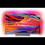 Philips 49PUS8503/12 49-Inch 4K Ultra HD Android Smart TV with HDR Plus and 3-sided Ambilight - Metalic Silver (2018 Model)