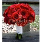 Buchet de nasa trandafiri rosii