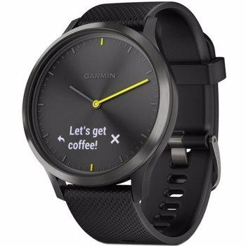 Smartwatch Garmin VIVOMOVE HR, WW, SPORT, BLACK-BLACK, L