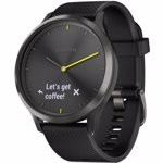 Smartwatch Garmin VIVOMOVE HR, WW, SPORT, BLACK-BLACK, L