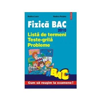 Fizica BAC 2010