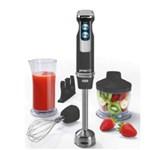 Mixer vertical Concept TM4751, 800W, Picior de Inox, 2 Viteze, Minitocator, Functie Turbo, Vas 800 ml, Accesoriu perete, Negru