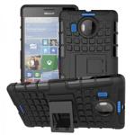 Husa hibrid g-shock pentru Microsoft Lumia 532 negru