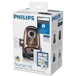 Philips Kit aspirator Performer Active FC8060/01, 4 saci de praf S-bag ULP, 1 filtru HEPA13, 1 filtru de intrare triplustrat , 4 pachete de parfum