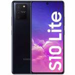 "Telefon Mobil Samsung Galaxy S10 Lite, Procesor Snapdragon 855, Octa-core, Super AMOLED Plus Capacitive touchscreen 6.7"", 6GB RAM, 128GB Flash, Camera Tripla 48+12+5MP, 4G, Wi-Fi, Dual SIM, Android (Negru)"