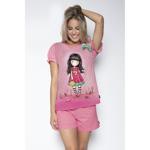Pijama fete cu tricou Gorjuss Every Summer Has A Story, scurte