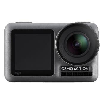 Camera Video Sport Osmo Action, Video 4K 60 FPS, Control Vocal, Mod Time-Lapse, Mod Temporizat, Mod 8 x Slow-Motion, Gri