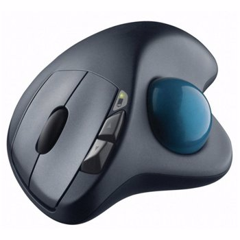 Mouse Wireless Logitech M570 Trackball USB Negru 910-002090