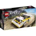 LEGO Speed Champions: Audi Sport quattro S1 76897, 7 ani+, 250 piese