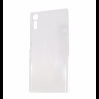 Protectie Spate Lemontti pentru Sony Xperia XZ, Ultraslim (Transparent)