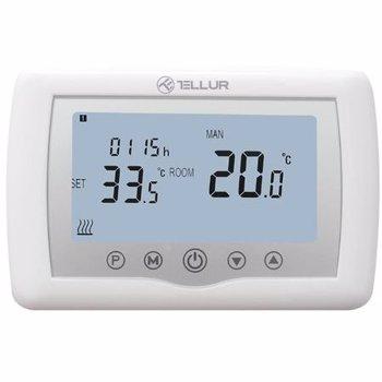 Termostat WiFi Tellur TLL331151 Centrala pe gaz Alb tll331151