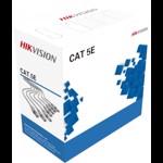 Cablu UTP DS-1LN5E-E/E Hikvision CAT.5E OFC Gri ds-1ln5e-e/e